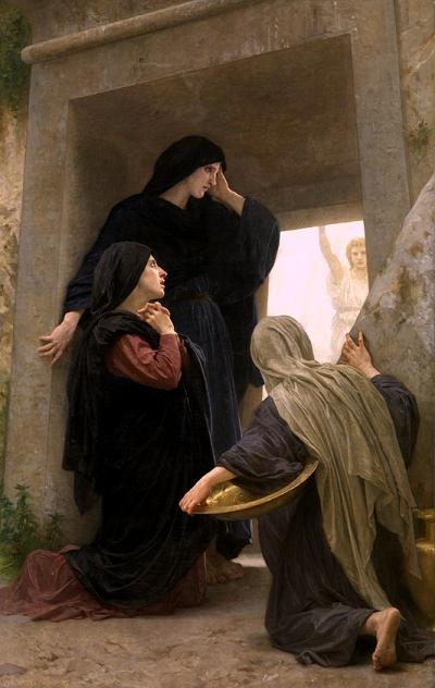 Bouguereau: Le Saintes Femmes au Tombeau